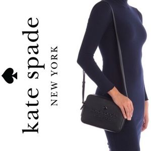 KATE SPADE logo crossbody camera bag